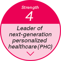 Strength4 Leader of next-generation personalized healthcare (PHC)